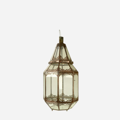 Lanterne – Kobber – 50 cm