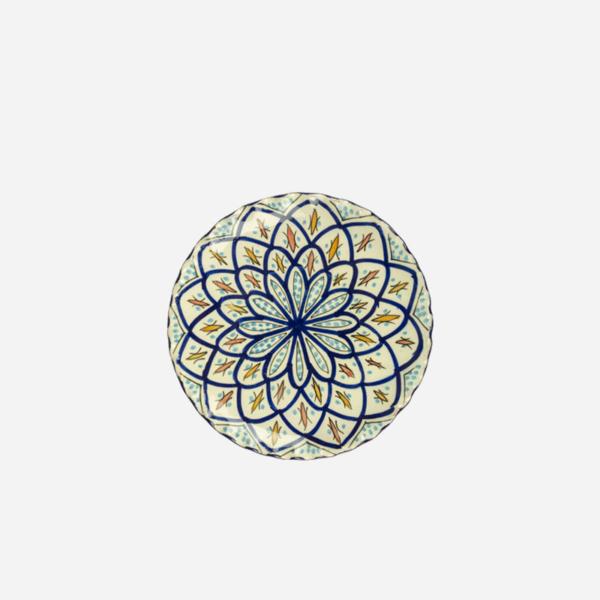 Tallerken – Blå – 20 cm