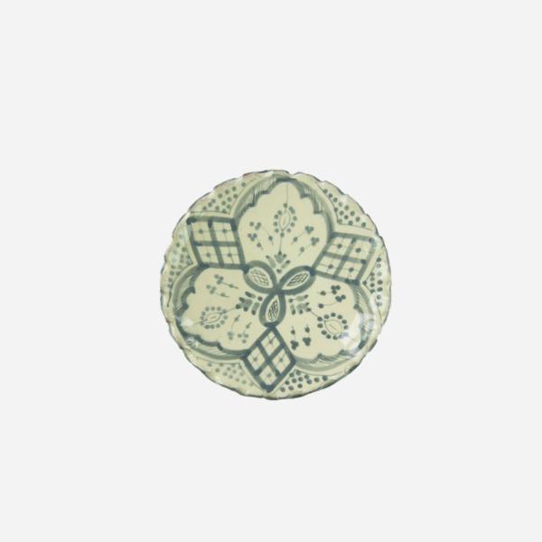 Tallerken – Grå – 16 cm