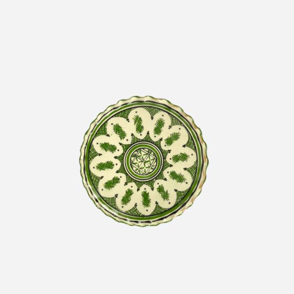 Tallerken – Grøn – 22 cm