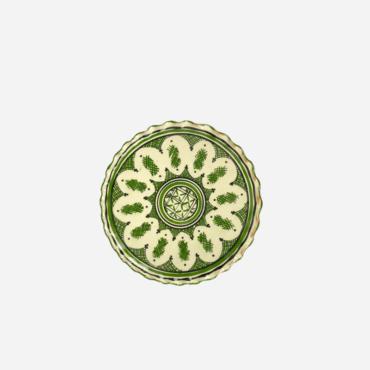 Tallerken – Grøn – 18 cm