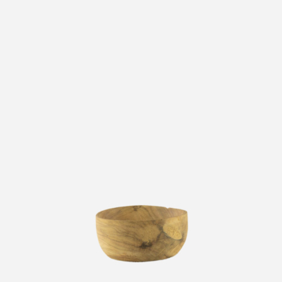 Skål – Nøddetræ – 5 cm