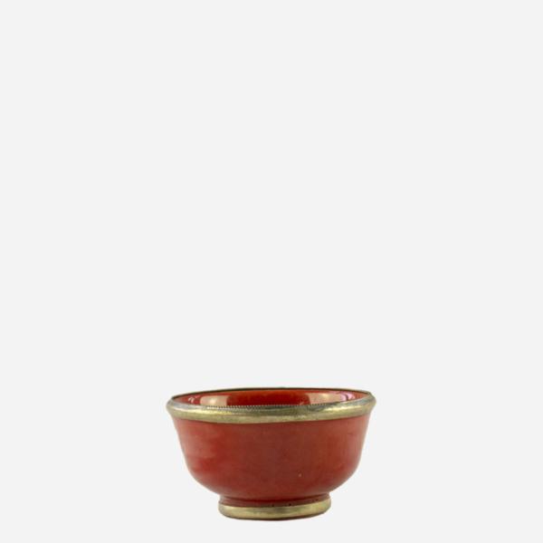 Skål – Rød – 9 cm