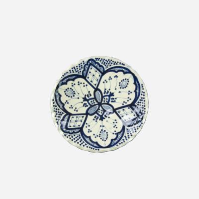 Tallerken – Blå – 22 cm