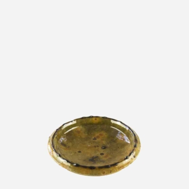 Tallerken – Gul – 17 cm