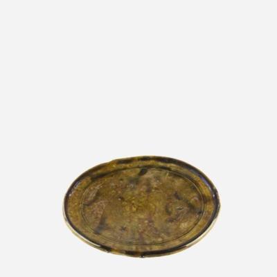 Tallerken – Gul – 23 cm