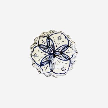 Tallerken – Blå – 16 cm